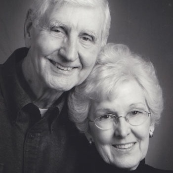 Dr. Bob Sparks and his wife, Carol