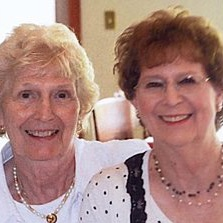 University of Pikeville alumnae and sisters Judith Walters Hinkle and Anne Walters Worthington
